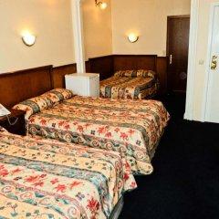 Hotel Continental Gare du Midi 2* Стандартный семейный номер с двуспальной кроватью фото 2
