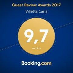 Отель Villetta Carla Фонтане-Бьянке спортивное сооружение
