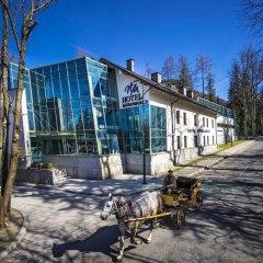 Отель Murowanica Польша, Закопане - отзывы, цены и фото номеров - забронировать отель Murowanica онлайн приотельная территория фото 2