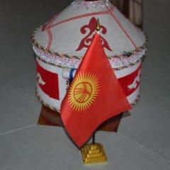 Отель Клубный Отель Флагман Кыргызстан, Бишкек - отзывы, цены и фото номеров - забронировать отель Клубный Отель Флагман онлайн ванная