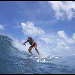 Отель Jail Break Surf Inn спортивное сооружение