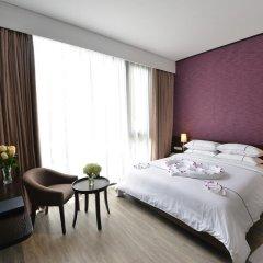 Hanoi Emerald Waters Hotel Trendy 3* Номер Делюкс с различными типами кроватей фото 10
