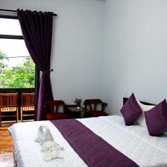 Отель Purple Garden Homestay 2* Улучшенный номер с двуспальной кроватью фото 2