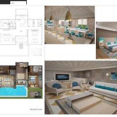 Отель Nirvana Lagoon Villas Suites & Spa 5* Вилла с различными типами кроватей фото 11