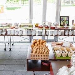 Отель Gartenhotel Altmannsdorf Low Budget Designhotel питание