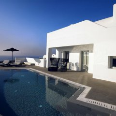 Отель Santo Maris Oia, Luxury Suites & Spa 5* Вилла Делюкс с различными типами кроватей