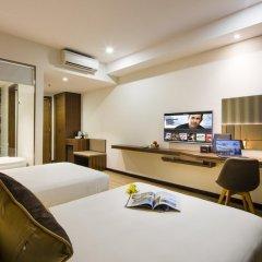 Sen Viet Premium Hotel Nha Trang 4* Номер Делюкс с 2 отдельными кроватями фото 3