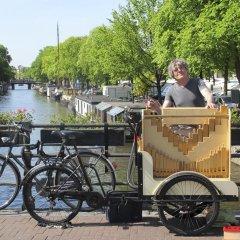 Отель Houseboat Westerdok Нидерланды, Амстердам - отзывы, цены и фото номеров - забронировать отель Houseboat Westerdok онлайн спортивное сооружение