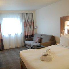 Отель Novotel Paris Les Halles 4* Представительский номер с различными типами кроватей фото 9
