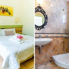 Отель Saronis Hotel Греция, Агистри - отзывы, цены и фото номеров - забронировать отель Saronis Hotel онлайн ванная фото 2