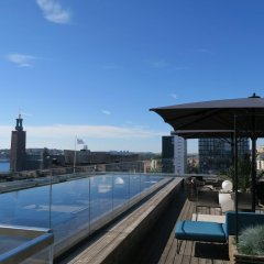 Отель Scandic Continental Стокгольм бассейн