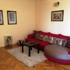 Апартаменты Slavija Charm Apartment Белград комната для гостей фото 2