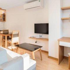 Отель An Nguyen Building Улучшенная студия с различными типами кроватей