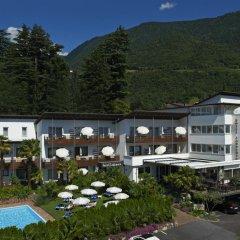 Hotel Ladurner Горнолыжный курорт Ортлер вид на фасад