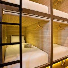 Capsule Pod Boutique Hostel Кровать в общем номере фото 10
