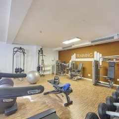 Отель Prinsotel la Pineda фитнесс-зал фото 2