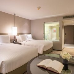 Отель Bangkok Marriott Marquis Queen's Park 5* Номер Делюкс с различными типами кроватей фото 4