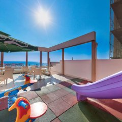 Отель Flamingo Beach Hotel Кипр, Ларнака - 13 отзывов об отеле, цены и фото номеров - забронировать отель Flamingo Beach Hotel онлайн бассейн