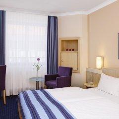 Отель IntercityHotel Nürnberg 3* Стандартный номер с двуспальной кроватью фото 3