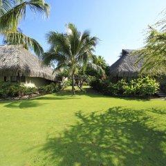 Отель Hilton Moorea Lagoon Resort and Spa 5* Бунгало с различными типами кроватей фото 8