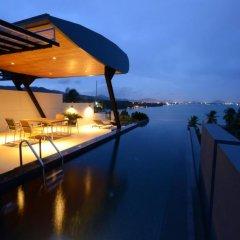 Отель AQUA Villas Rawai 4* Стандартный номер с разными типами кроватей фото 29