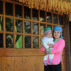 Отель Hoa Chanh Homestay Номер категории Эконом с различными типами кроватей фото 3