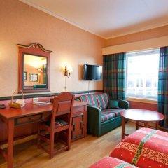 Отель Roros Hotell 4* Стандартный номер с различными типами кроватей фото 2