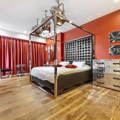 Апартаменты Sky Apartments Rentals Service Студия Делюкс с различными типами кроватей фото 9