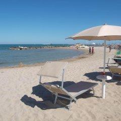 Отель Residence Blu Mediterraneo Римини пляж