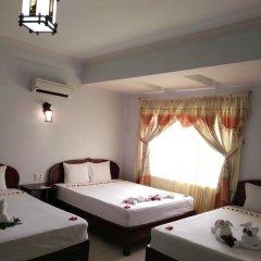 Hue Valentine Hotel 2* Стандартный семейный номер с двуспальной кроватью фото 3