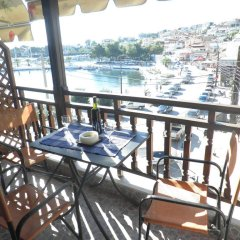 Отель Zefyros Studios Ситония балкон
