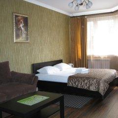 Мини-Отель Уют Стандартный семейный номер с различными типами кроватей фото 4