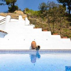 Отель Villa Sa Caleta Испания, Льорет-де-Мар - отзывы, цены и фото номеров - забронировать отель Villa Sa Caleta онлайн бассейн