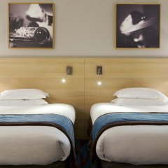 Отель Mercure Paris La Villette 4* Стандартный номер с различными типами кроватей фото 2