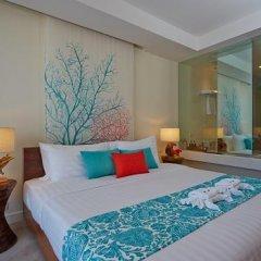 Отель Bandara Phuket Beach Resort 4* Улучшенный номер с двуспальной кроватью фото 7