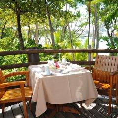 Отель Le Taha'a Island Resort & Spa балкон