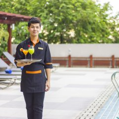 Отель Adelphi Grande Sukhumvit By Compass Hospitality Бангкок спортивное сооружение