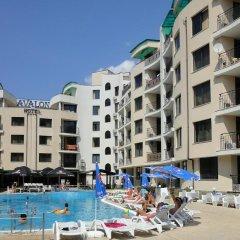 Отель Avalon Freya Apartments Болгария, Солнечный берег - отзывы, цены и фото номеров - забронировать отель Avalon Freya Apartments онлайн бассейн фото 3