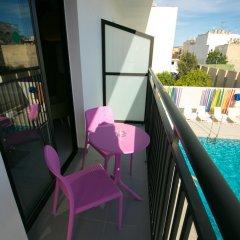 Отель The Purple by Ibiza Feeling - LGBT Only 3* Улучшенный номер с различными типами кроватей фото 4