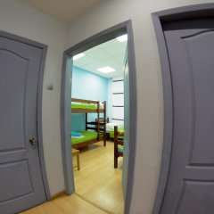 Fantomas Hostel Номер Эконом разные типы кроватей фото 7