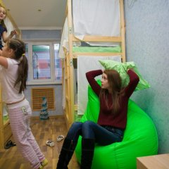 Hostel Ogurets Кровати в общем номере с двухъярусными кроватями фото 9