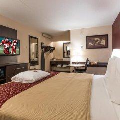 Отель Red Roof Inn PLUS+ Columbus-Ohio State University OSU 2* Улучшенный номер с различными типами кроватей фото 7