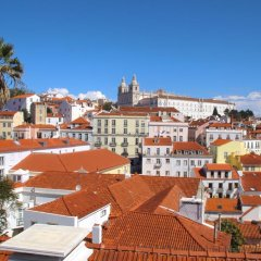 Отель Terrace Lisbon Hostel Португалия, Лиссабон - отзывы, цены и фото номеров - забронировать отель Terrace Lisbon Hostel онлайн балкон