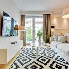 Апартаменты Grand Apartments - Wave Сопот комната для гостей фото 4
