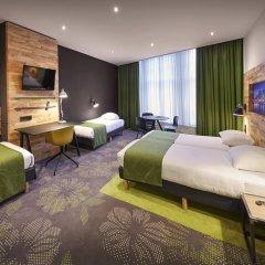 Отель Nova 3* Стандартный семейный номер с двуспальной кроватью фото 3