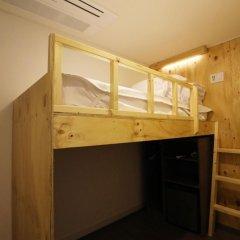 Отель STEP INN Myeongdong 1 3* Стандартный номер с различными типами кроватей фото 5