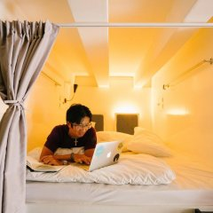 Matchbox The Concept Hostel Кровать в общем номере с двухъярусной кроватью фото 5