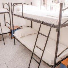 Hostel Melting Pot Rome Кровать в общем номере с двухъярусной кроватью
