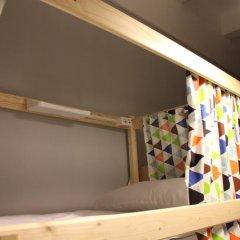 Хостел Bla Bla Hostel Rostov Кровать в мужском общем номере с двухъярусной кроватью фото 18