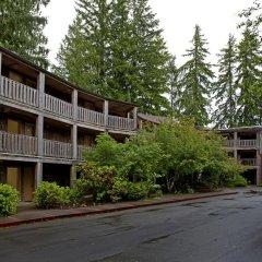Отель Lake Quinault Lodge Куинолт парковка